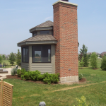 Chimney on Gazebo Lee Price Contractors Bartlett IL 60103