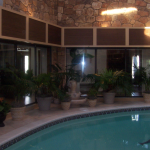 Soffit in Pool Area Lee Price Contractors Bartlett IL 60103